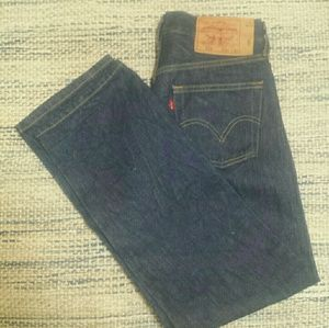 LEVI'S 501 STRAIGHT LEGGED JEANS